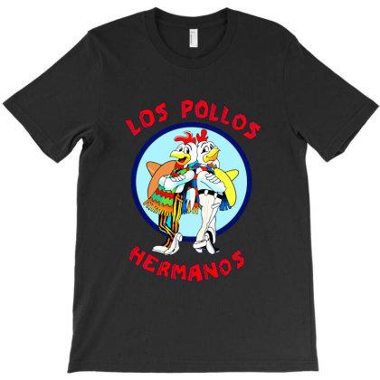 Los Pollos Hermanos T-shirt Designed By Ampun Dj