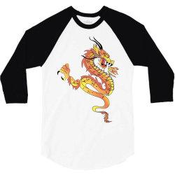 Dragon 3/4 Sleeve Shirt | Artistshot
