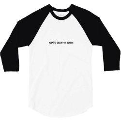 despite color or gender 3/4 Sleeve Shirt   Artistshot