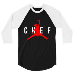 Funny Restaurant Chef 3/4 Sleeve Shirt | Artistshot