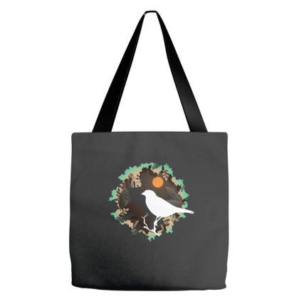 Night Bird Tote Bags Designed By Gurkan