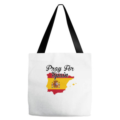 Pray For Spain For Light Tote Bags Designed By Gurkan