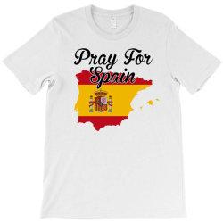 pray for spain for light T-Shirt | Artistshot