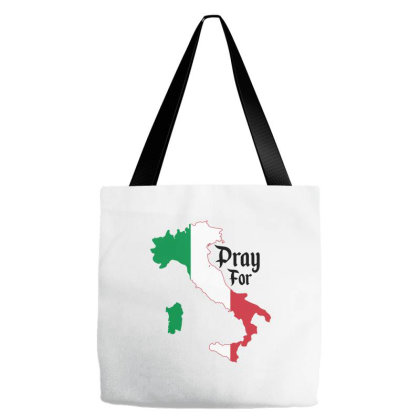 Pray For Italy For Light Tote Bags Designed By Gurkan
