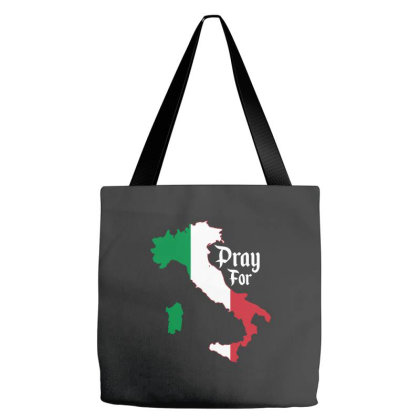 Pray For Italy For Dark Tote Bags Designed By Gurkan