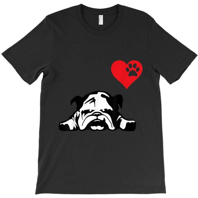 I Love My English Bulldog T-shirt | Artistshot