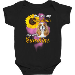 cavalier king you are my sunshine Baby Bodysuit | Artistshot
