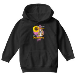 cavalier king you are my sunshine Youth Hoodie | Artistshot