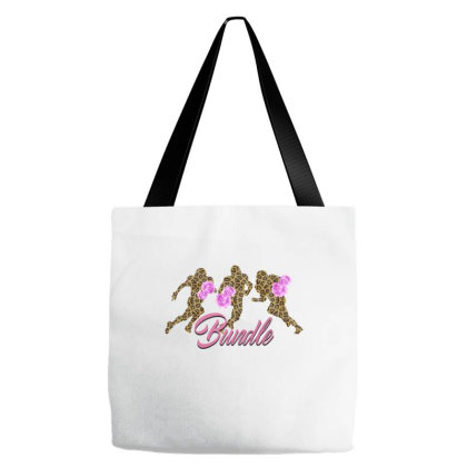 American Football Leopard Tote Bags Designed By Gurkan