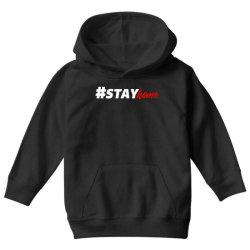 #stayhome for dark Youth Hoodie   Artistshot