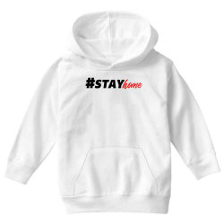 #stayhome for light Youth Hoodie | Artistshot