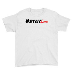 #stayhome for light Youth Tee | Artistshot