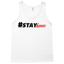 #stayhome for light Tank Top | Artistshot