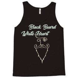 black beard white heart2 Tank Top | Artistshot