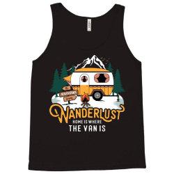 wanderlust home is where the van is Tank Top | Artistshot