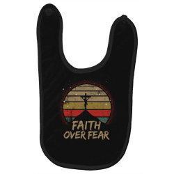 faith over fear Baby Bibs | Artistshot