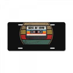 best of 1990 License Plate | Artistshot