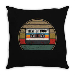 best of 1990 Throw Pillow | Artistshot