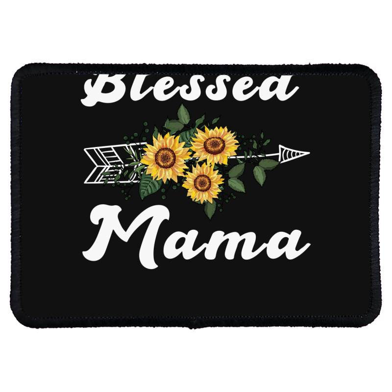 Blessed Mama For Dark Rectangle Patch | Artistshot