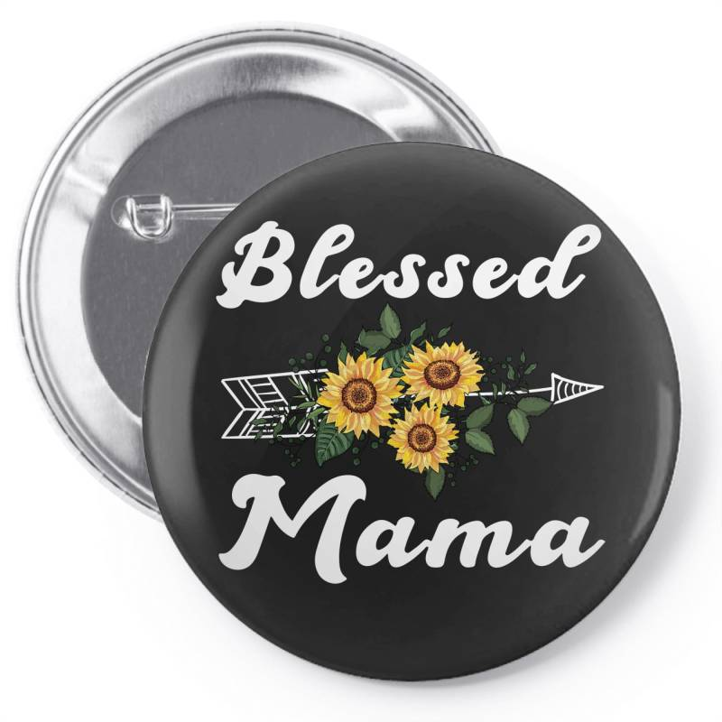 Blessed Mama For Dark Pin-back Button | Artistshot