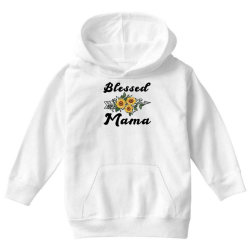 blessed mama for light Youth Hoodie | Artistshot