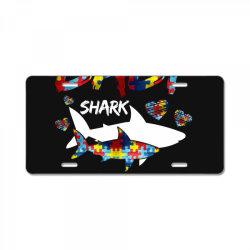 baby shark for dark License Plate | Artistshot