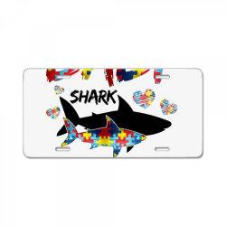 baby shark for light License Plate | Artistshot