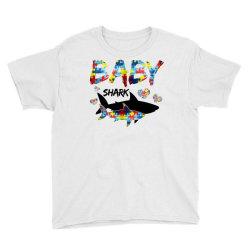 baby shark for light Youth Tee | Artistshot