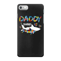 daddy shark for dark iPhone 7 Case | Artistshot