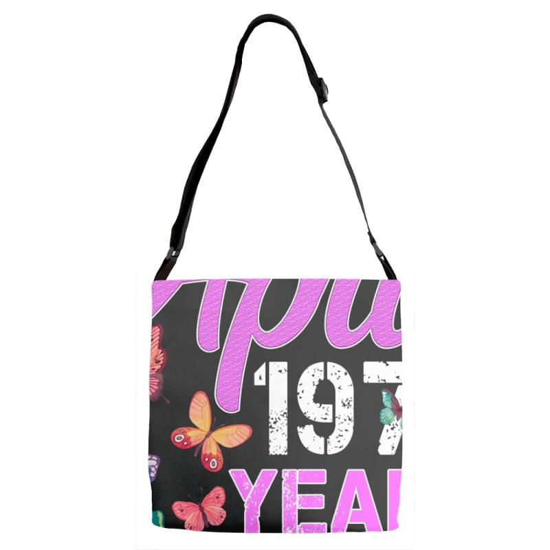 Made In April 1970 Ears 50 Of Being Awesome For Dark Adjustable Strap Totes   Artistshot