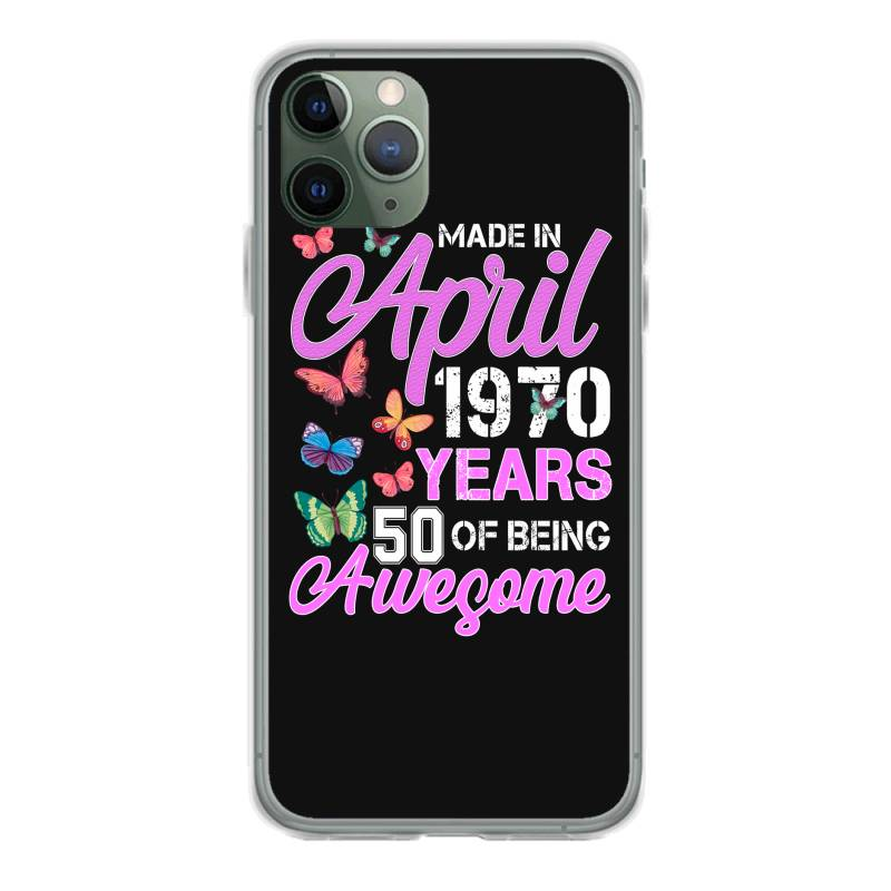 Made In April 1970 Ears 50 Of Being Awesome For Dark Iphone 11 Pro Case | Artistshot