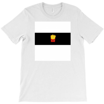 Fries Lover T-shirt Designed By Good_hart