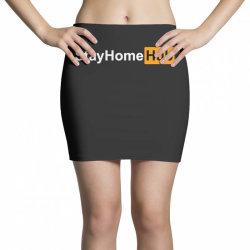 stay home hub Mini Skirts | Artistshot
