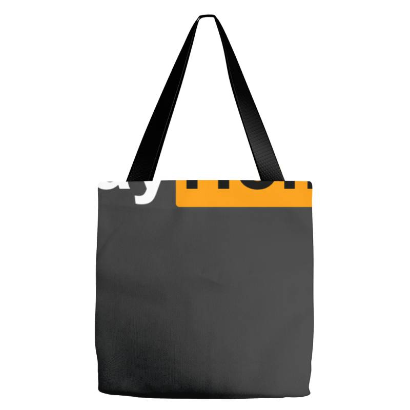 Stay Home Tote Bags | Artistshot
