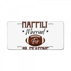 happily married for 10 seasons for light License Plate | Artistshot