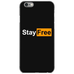 stay free iPhone 6/6s Case | Artistshot