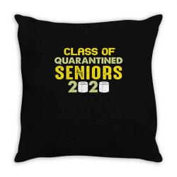 class of quarantined seniors 2020 shirt Throw Pillow   Artistshot