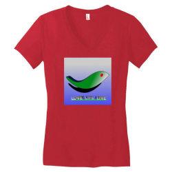 20200326 222003 Women's V-Neck T-Shirt | Artistshot