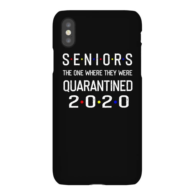 Seniors The One Where They Were Quarantined 2020 Shirt Iphonex Case | Artistshot
