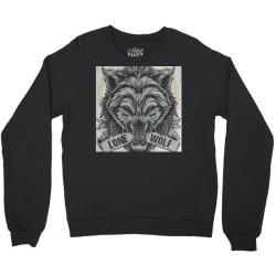 Lone wolf Crewneck Sweatshirt | Artistshot