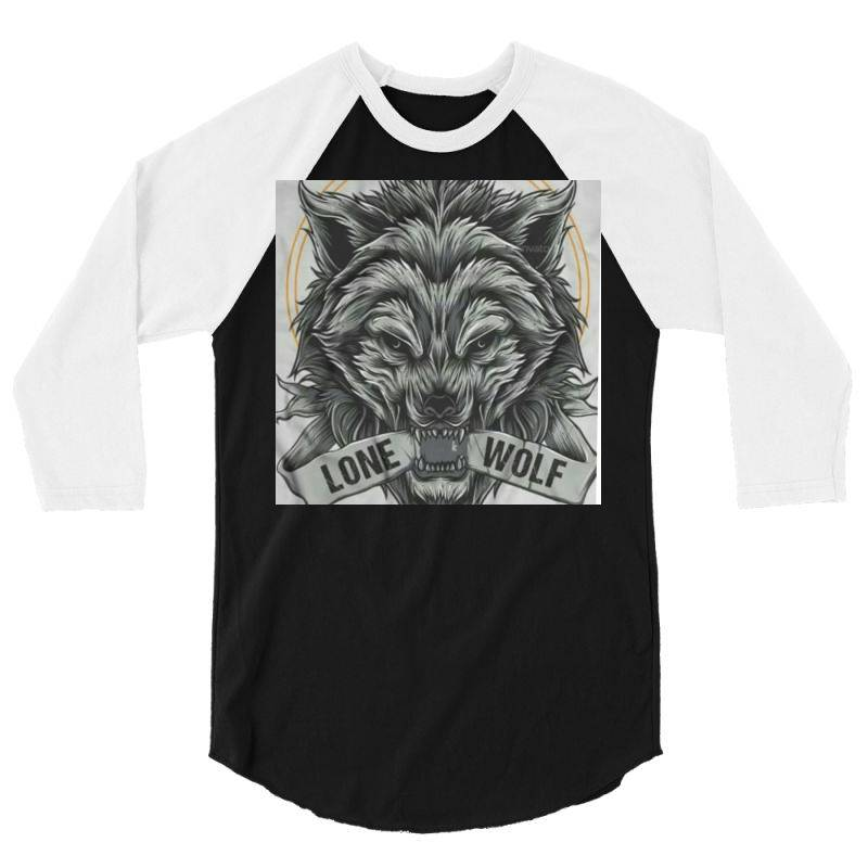 Lone Wolf 3/4 Sleeve Shirt | Artistshot