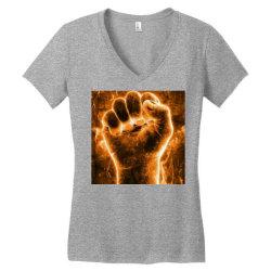 Beginning Women's V-Neck T-Shirt | Artistshot