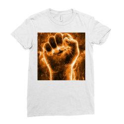 Beginning Ladies Fitted T-Shirt | Artistshot