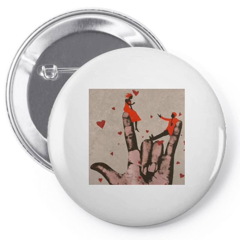 Couple Pin-back Button   Artistshot