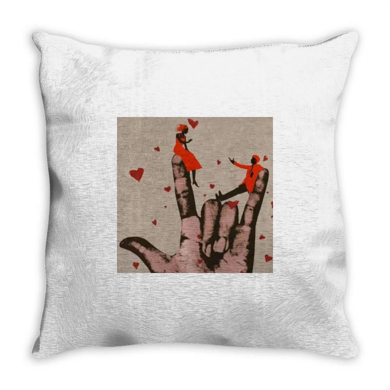 Couple Throw Pillow | Artistshot
