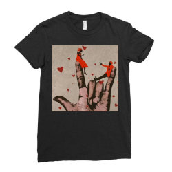 Couple Ladies Fitted T-Shirt | Artistshot