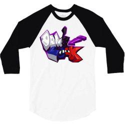 don't look 3/4 Sleeve Shirt   Artistshot