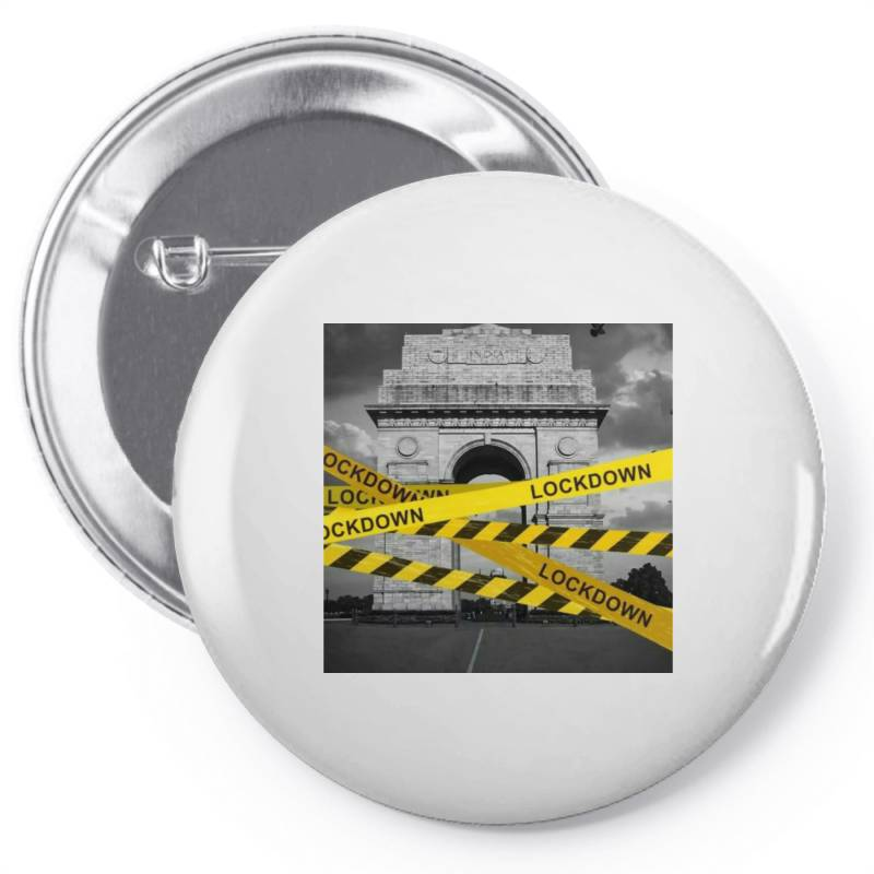 Lockdown Pin-back Button | Artistshot