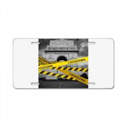 Lockdown License Plate   Artistshot