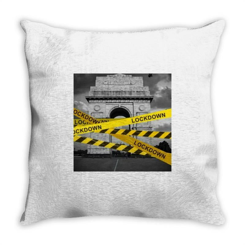 Lockdown Throw Pillow | Artistshot
